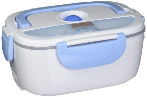 EBH-01 Electric Heating Lunch Box, Light Blue - electric heated lunch boxes
