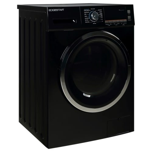EdgeStar CWD1550BL 2.0 Cu. Ft. All-in-One Ventless Washer and Dryer Combo - Black - Front Load Washers