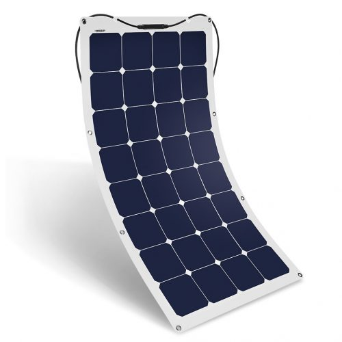 Suaoki 100W 18V 12V Solar Panel Charger SunPower Cell Ultra Thin Flexible - Monocrystalline Solar Panels