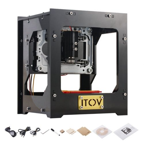 1000mW Laser Engraving Machine DIY Laser Engraver Printer - laser engraving machine