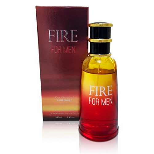 Fire For Men Perfume By Mirage Brands: 3.4 Oz 100ml Eau de Toilette Cologne With Honeysuckle, Sandalwood And Balsam Scent –Long-Lasting Fragrance To Rock Every Occasion - Men's Lasting Perfumes