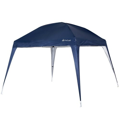 POP-UP CANOPY TENT WITH SLANT LEGS FROM FREELAND (BASE: 10 X 10FT, CANOPY: 8 X 8 FT) - Tents