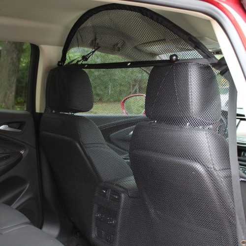 "Pet Net Vehicle Safety Mesh Dog Barrier - 49""W for SUV / Car / Truck / Van - Fits Behind Front Seats - Dog Car Barriers"