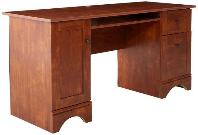 Sauder Brushed Maple Computer Desk - Computer Desk