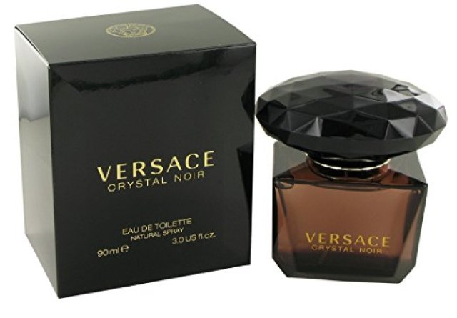 VERSACE CRYSTAL NOIR BY VERSACE FOR WOMEN- 3 OUNCES EDT - WOMEN'S LASTING PERFUMES