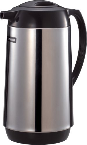 Zojirushi Polished Stainless Steel Vacuum Insulated Thermal Carafe, 1 liter - Thermal Carafes