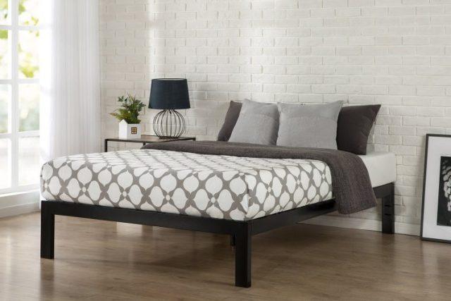 """Zinus Quick Snap TM 14 Inch Platform Bed Frame""""-Metal Platform Beds"""