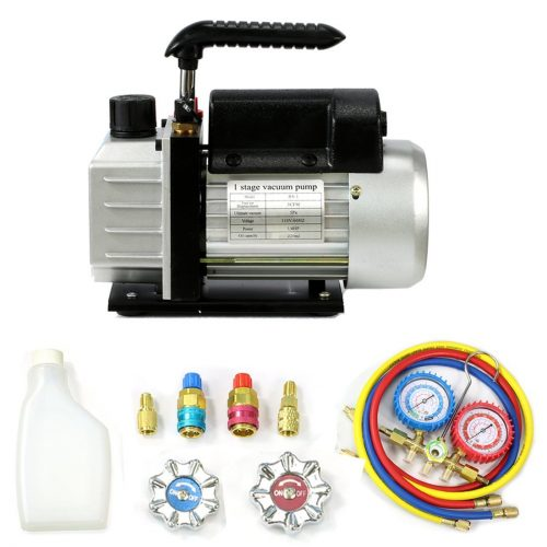 HVAC Single-stage Rotary Vane Vacuum Pump