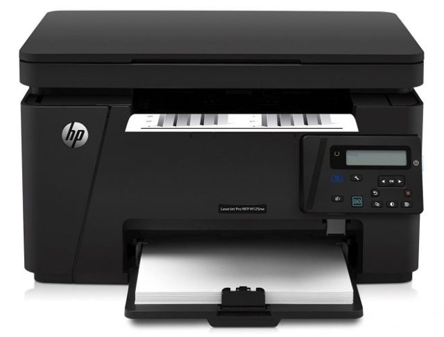 HP LaserJet Pro M125nw All-in- One Wireless Laser Printer (CZ173A)