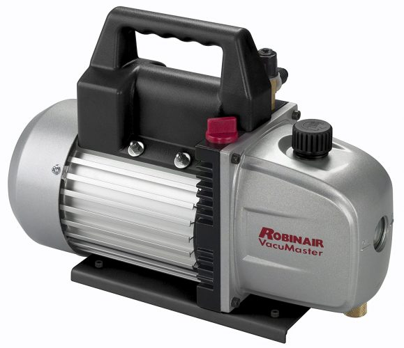 Robinair (15310) VacuMaster Single Stage Vacuum Pump - Single-Stage, 3 CFM