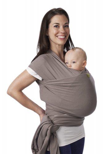 Boba Wrap, Grey, 0-18 Months