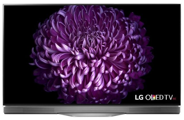 LG Electronics OLED65E7P 65-Inch 4K Ultra HD Smart OLED TV (2017 Model)-4K Ultra HD TV