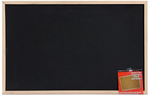 Dooley Wood-Framed Chalk Board, 23 x 35 Inches