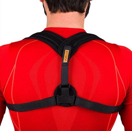 Tresalto Adjustable Figure 8 Back Posture Corrector and Clavicle Brace