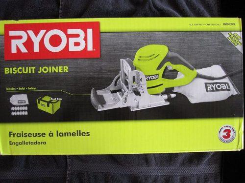 Ryobi ZRJM82GK 6 Amp Biscuit Joiner