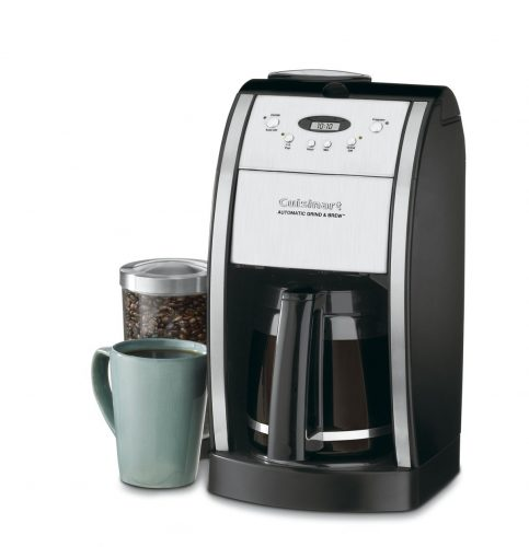 Cuisinart DGB-550BK 12 Cup Grind and Brew Automatic Coffee Maker Chrome