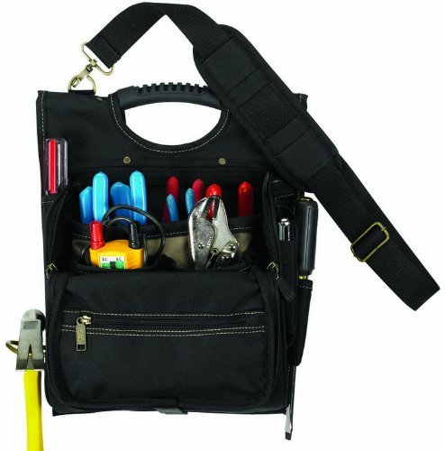 Custom LeatherCraft 1509 Professional Electricians, Electrician Tool Bags