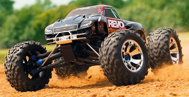 Off-Road Remote Control Car and Truck Toy