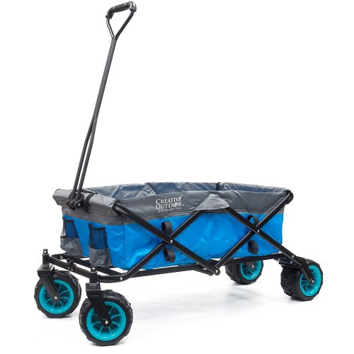 Creative Outdoor Distributor [All Terrain Sports Team] Wagon - Green/Yellow