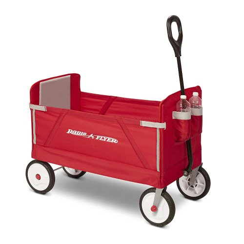 Radio Flyer 3 Inch 1 EZ Folding [For Cargo and Kids] Wagon