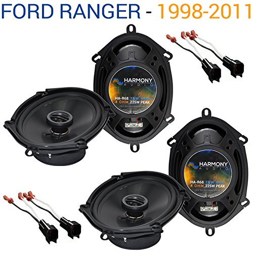 Fits Ford Ranger 1998-2011 Factory Speaker Replacement Harmony (2) R68 Package New