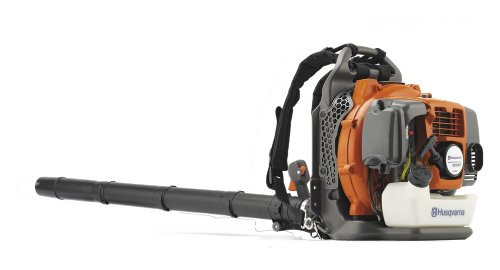Husqvarna 965877502 350BT 1.6 kW 50.2 cc 7500 rpm 180 MPH Backpack Leaf Blower with 2.1 HP X-Torq engine