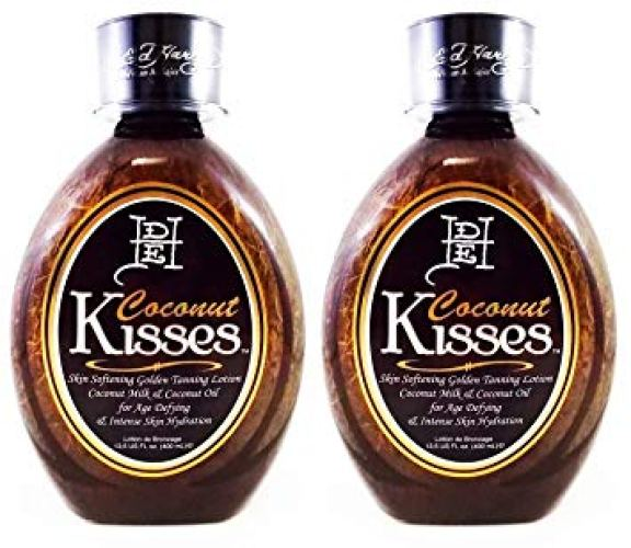 Ed Hardy Coconut Kisses Skin Softening Golden Indoor UV Bed Tanning Lotion