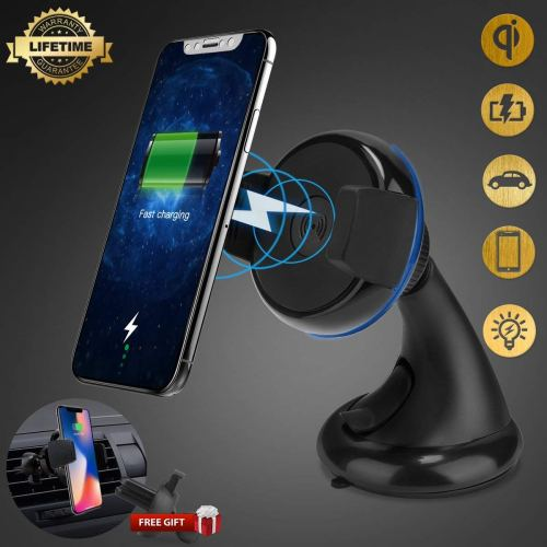 Wireless Car Charger, iFunTec Car Mount