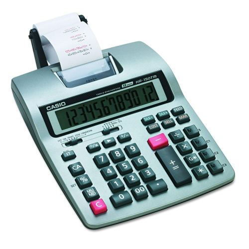 Casio HR-150 TM Plus Business Calculator