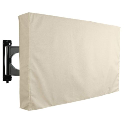 Outdoor TV Cover, Beige