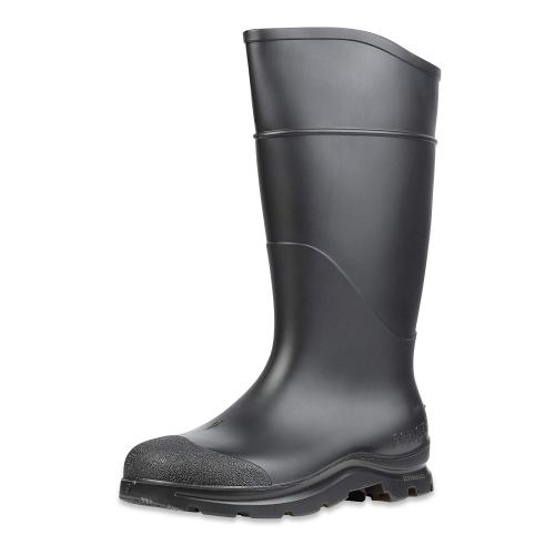 "Servus Comfort Technology 14"" PVC Soft Toe Men's Work Boots, Black (18822)"