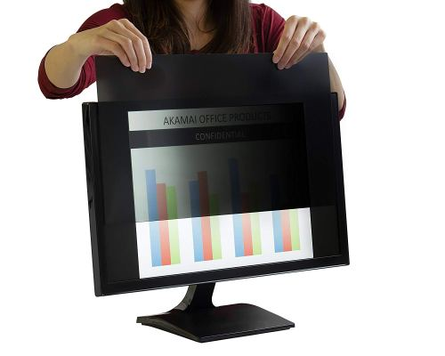 Akamai Office Products 23.0 inch (Diagonally Measured) Privacy Screen Filter for Widescreen Computer Monitors-Anti Glare (AP23.0W9)