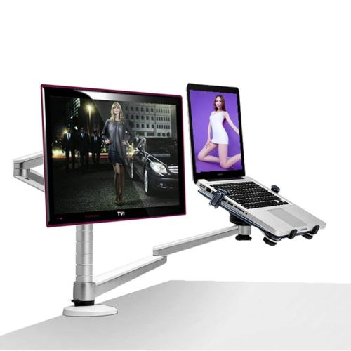 XY Soap dish Notebook Stand, Monitor Stand, Dual-use Computer Stand, Desktop Cooling Apple Heat, Aluminum Alloy Notebook Student Stand, Packaging Size: 525mm255mm130mm