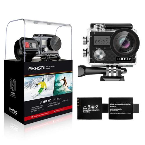 AKASO Brave 4 4K 20MP Wifi Action Camera