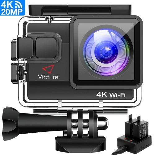 Victure 4K Action Camera 20MP