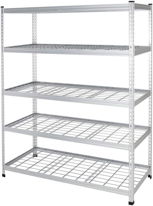 AmazonBasics Heavy Duty Shelving Double