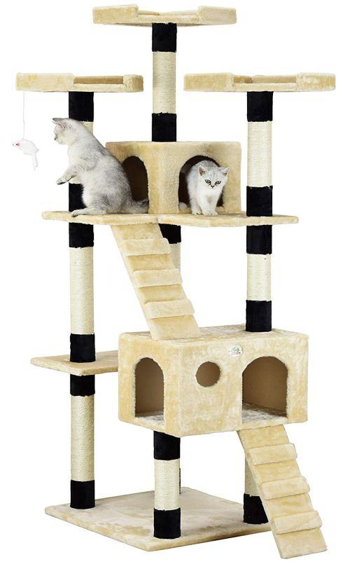 Go Pet Club Cat Tree Furniture - Cat Towers
