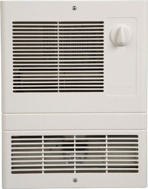 Broan 9815WH High Capacity Wall Heater with 1500 Watt Fan