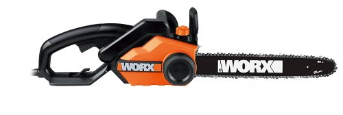 Worx 16-Inch 14.5 Amp Electric Chainsaw with Auto-Tension