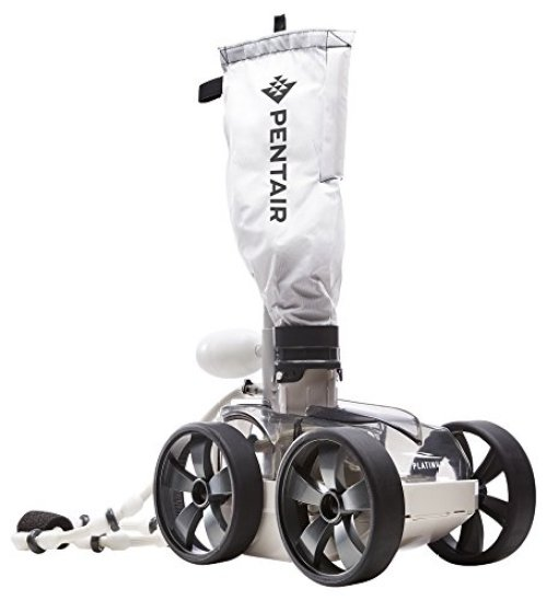 Pentair LL505PMG Kreepy Krauly Platinum Pressure-Side Inground Automatic Pool Cleaner, Gray - Automatic Pool Cleaners