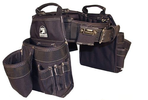 Gatorback Professional Carpenter's Tool Belt Combo w/Air-Channel Pro Comfort Back Support Belt. (Medium 31-35 Inch Waist) - Carpenters Tool Belt