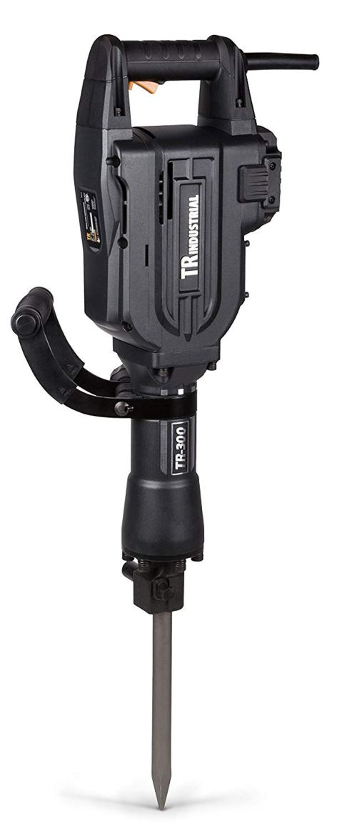 TR Industrial TR89305 60 Joules Electric Jack Hammer for Demolition, Graphite
