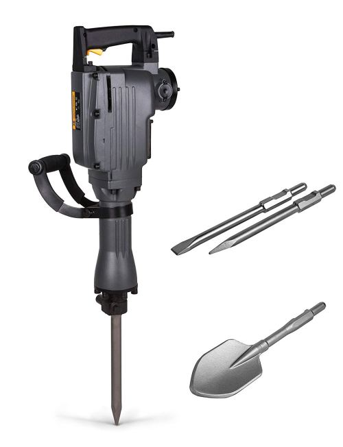 TR Industrial TR89100 Electric Demolition Jackhammer 4-Piece Set