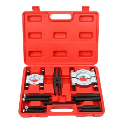 8MILELAKE 12pcs bearing Splitter Gear Puller Fly Wheel Separator Set Tool Kit