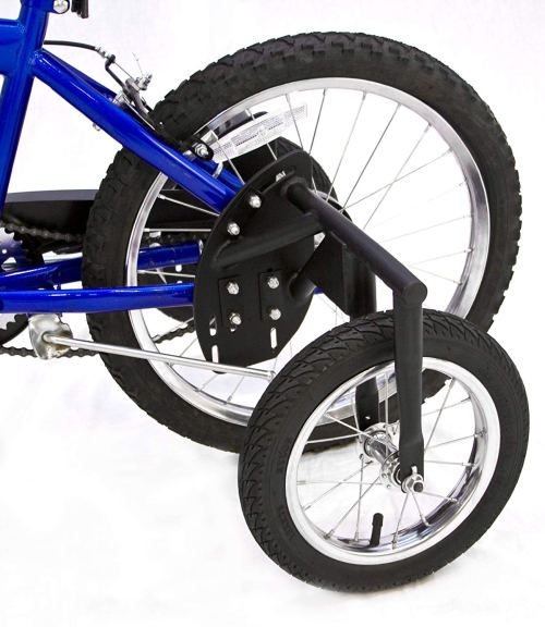 Bike USA Inc's Junior Stabilizer Wheel Kit for Youth 20-Inch Wheel BMX Bikes, Heavy-Duty BMX Training Wheels.