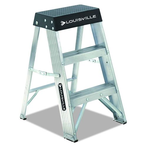 Louisville Ladder AS3002, Aluminum Stepladder, 300-Pound Capacity, 2-Foot