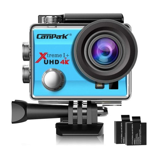 Campark ACT74 4K WiFi Action Camera (Blue)