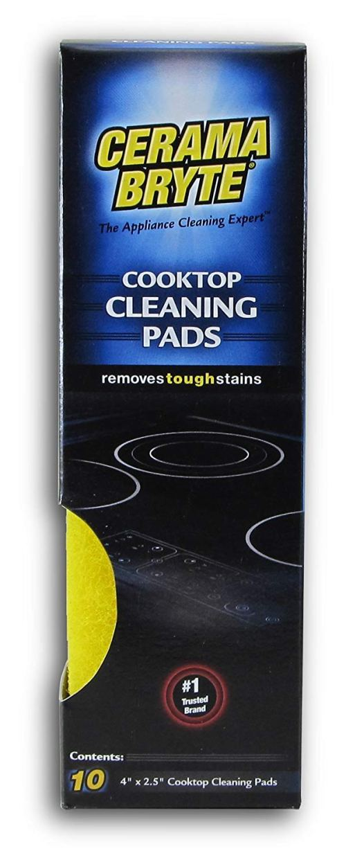 CeramaBryte Glass-Ceramic Cooktop Cleaning Pads