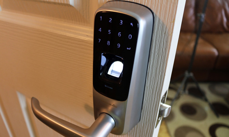 Image result for fingerprint door lock