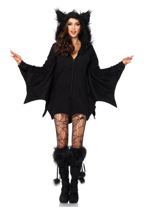 Leg Avenue Women's Cozy Bat Costume - Halloween Costumes for Women